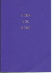 Even You Song