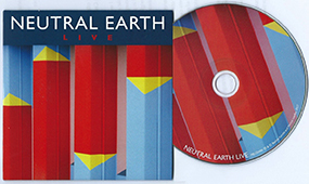 Neutral Earth Live, CD, 2017